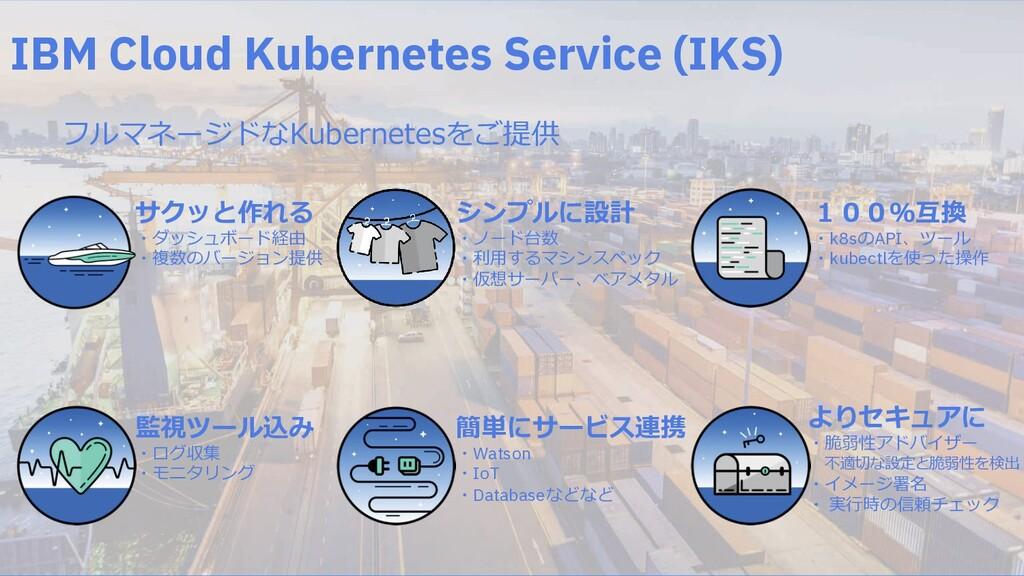 IBM Cloud Kubernetes Service (IKS) FGHI<J=KLMN....