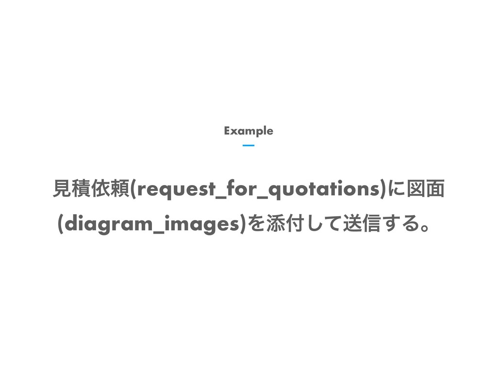 Example ݟੵґཔ(request_for_quotations)ʹਤ໘ (diagra...
