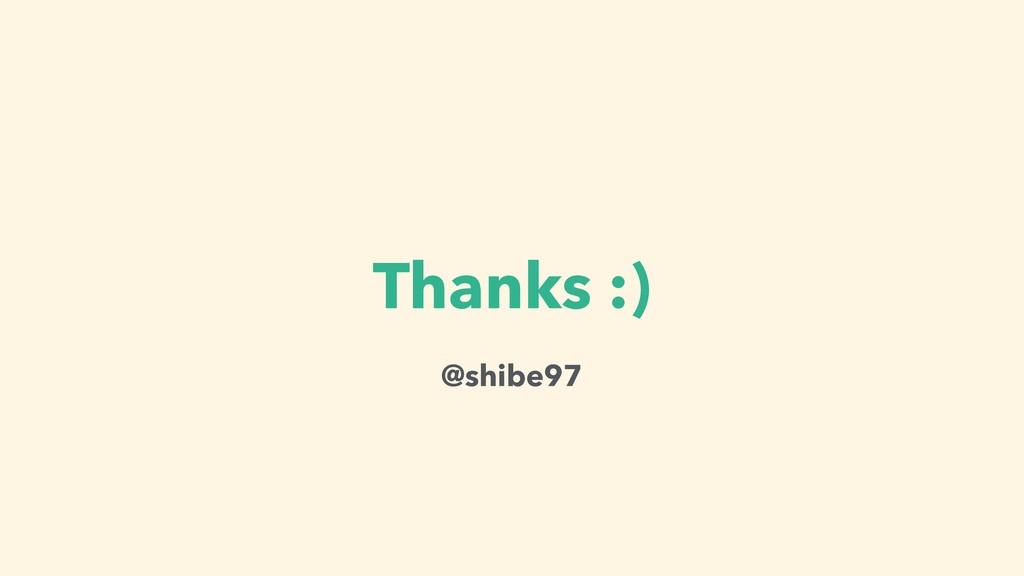Thanks :) @shibe97