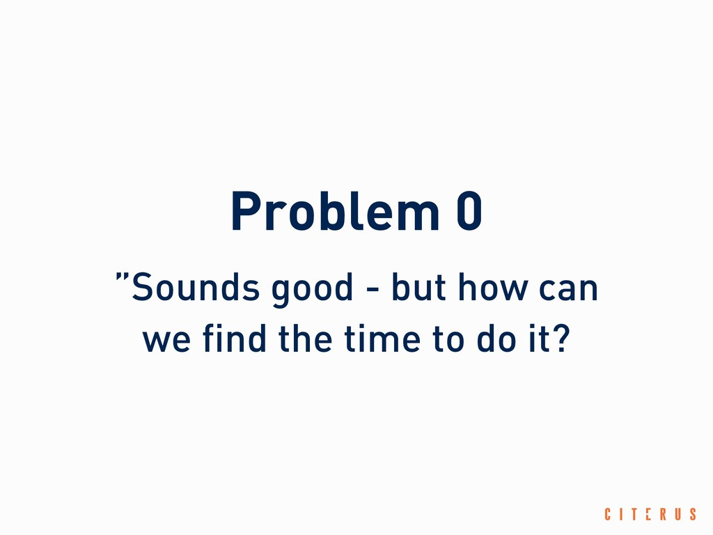 """Problem 0 """"Sounds good - but how can we find th..."""