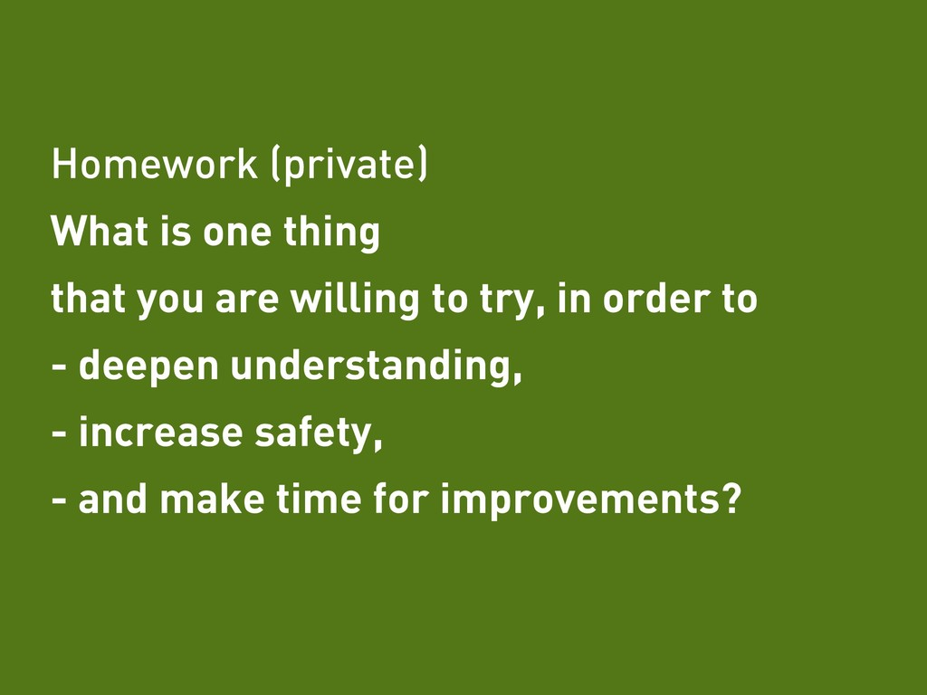 Tobias Fors | @tofo Homework (private) What is ...