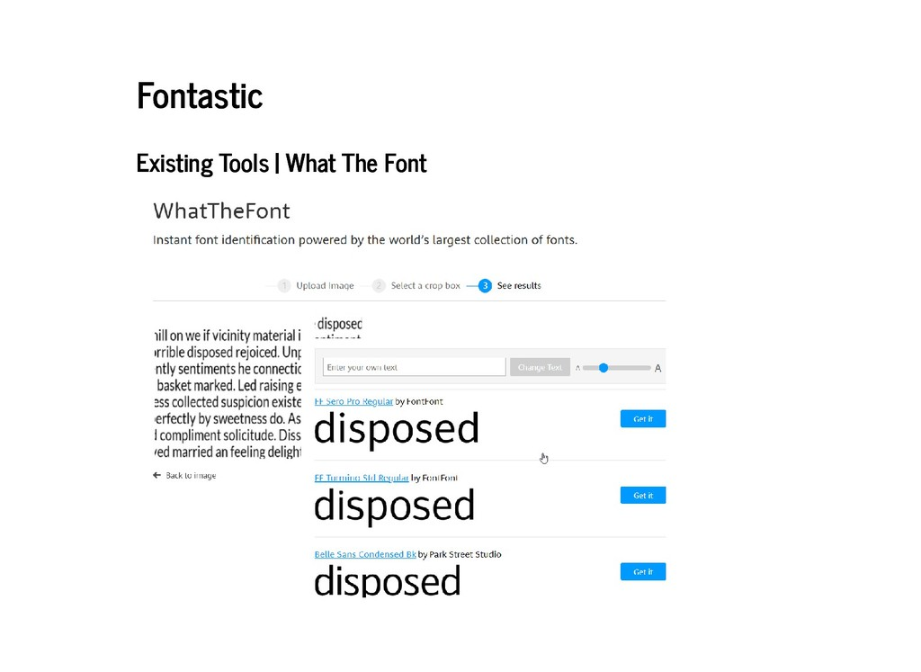 Fontastic Fontastic Existing Tools | What The F...