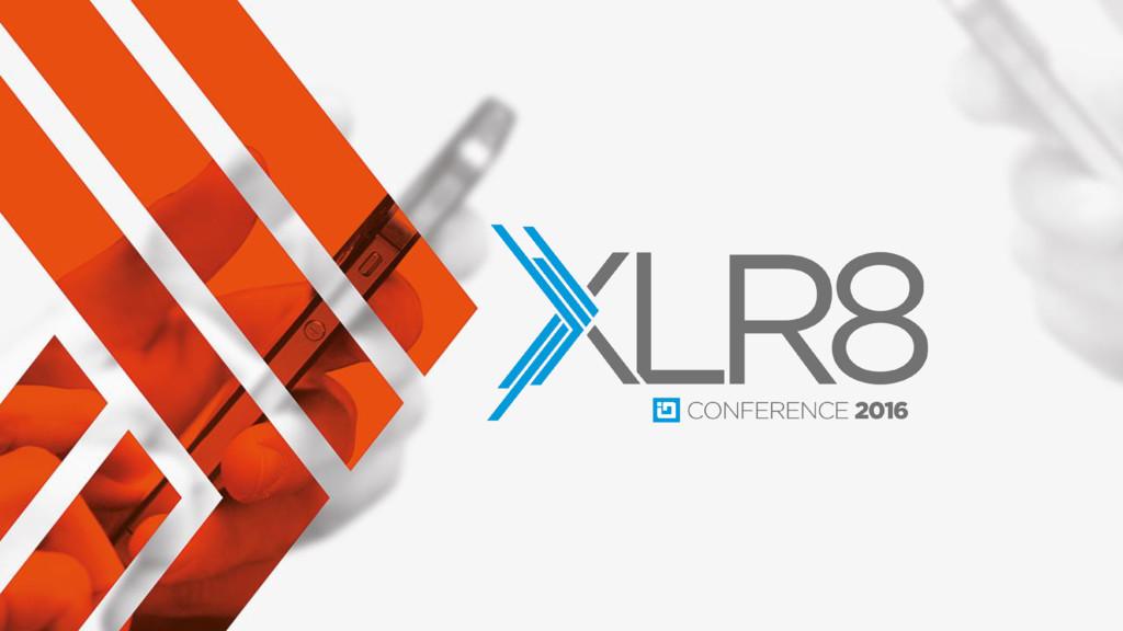 #XLR8con