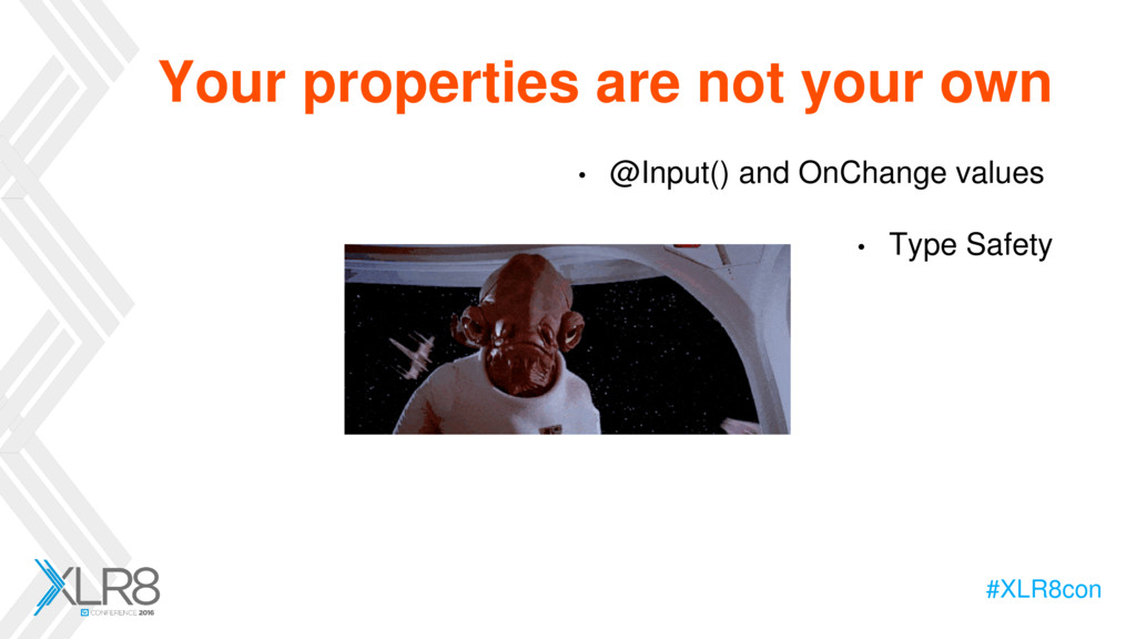 #XLR8con Your properties are not your own • @In...