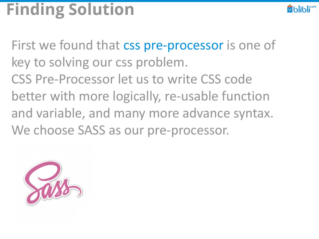 Finding Solution First we found that css pre-pr...