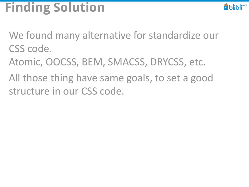 Finding Solution We found many alternative for ...