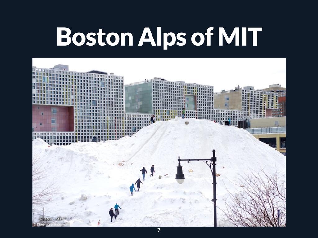 Boston Alps of MIT 7