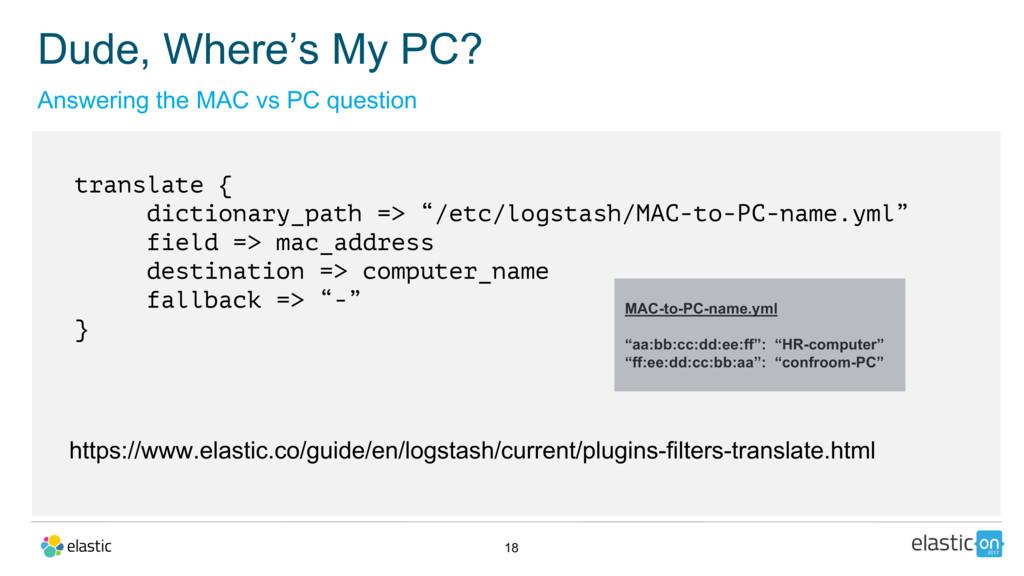 "18 translate { dictionary_path => ""/etc/logstas..."