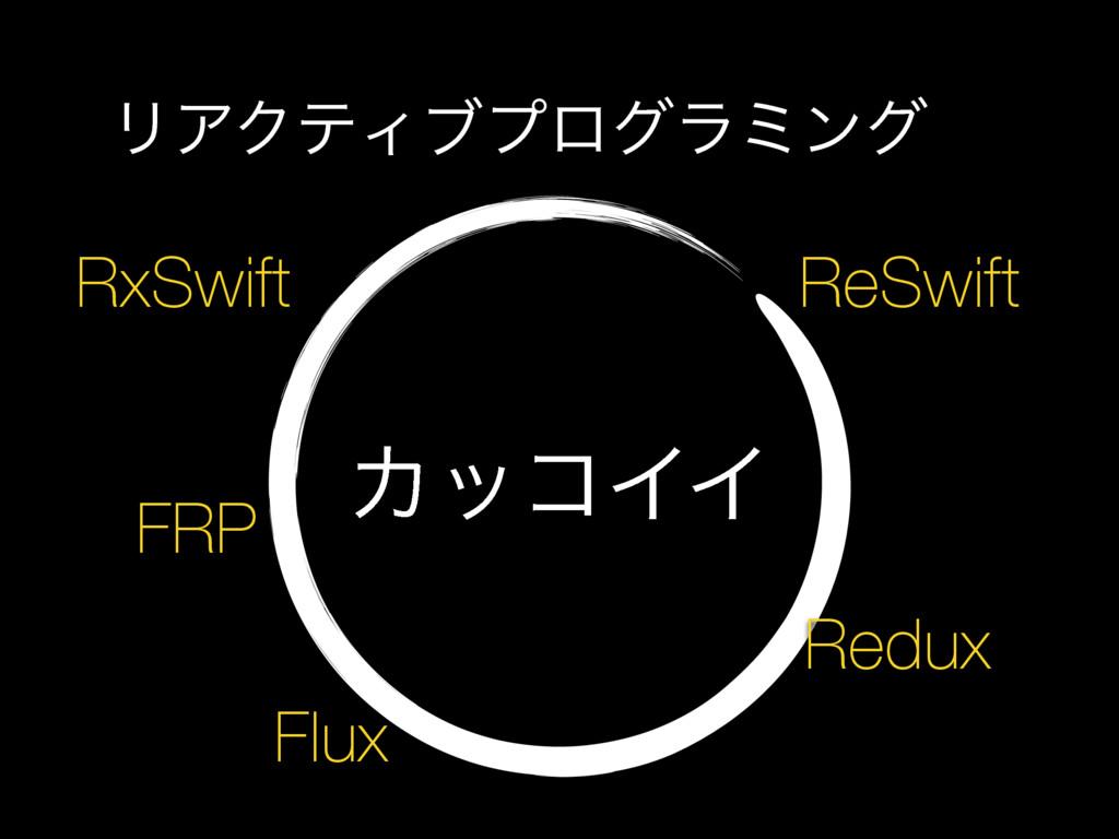 ΧοίΠΠ ϦΞΫςΟϒϓϩάϥϛϯά FRP RxSwift ReSwift Redux F...