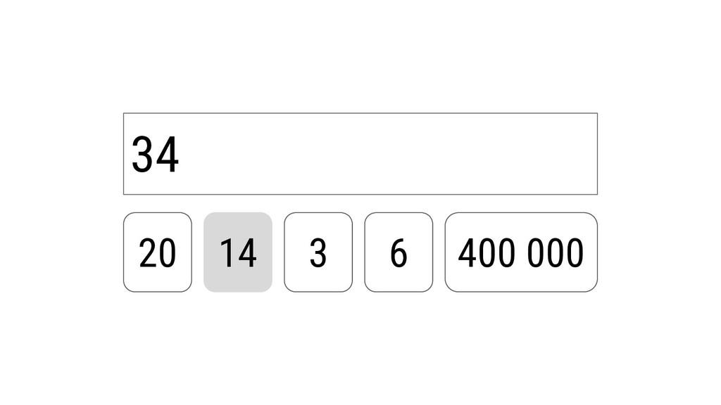 34 20 14 3 6 400 000