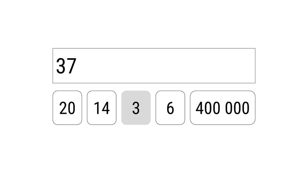 37 20 14 3 6 400 000