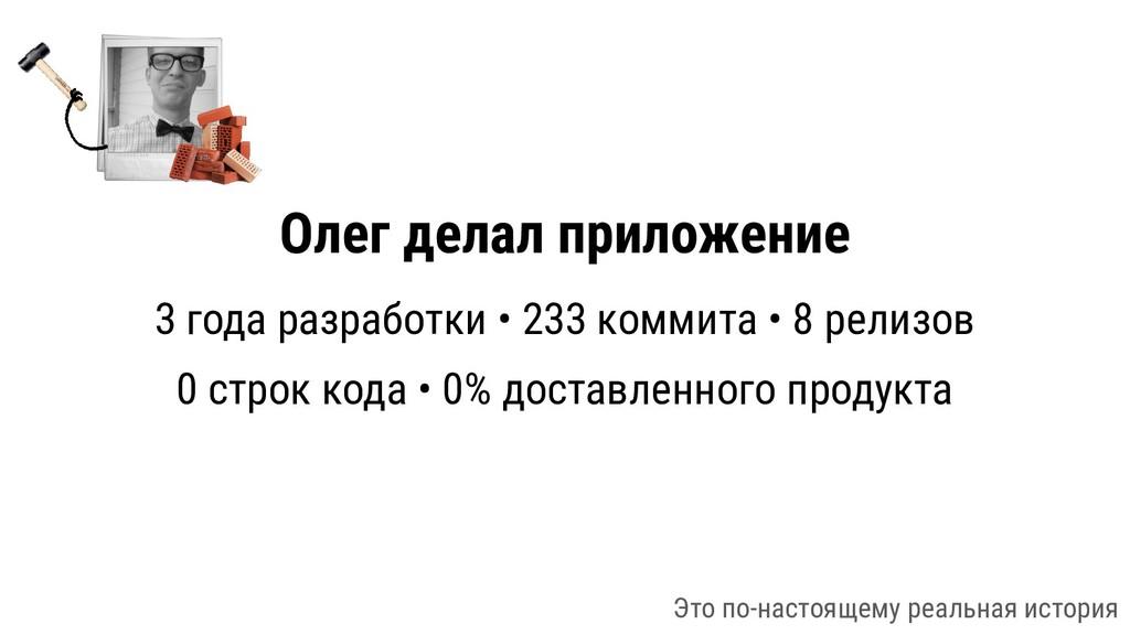 Олег делал приложение 3 года разработки • 233 к...