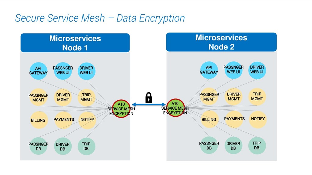 20. Secure Service Mesh – Data Encryption Micro...