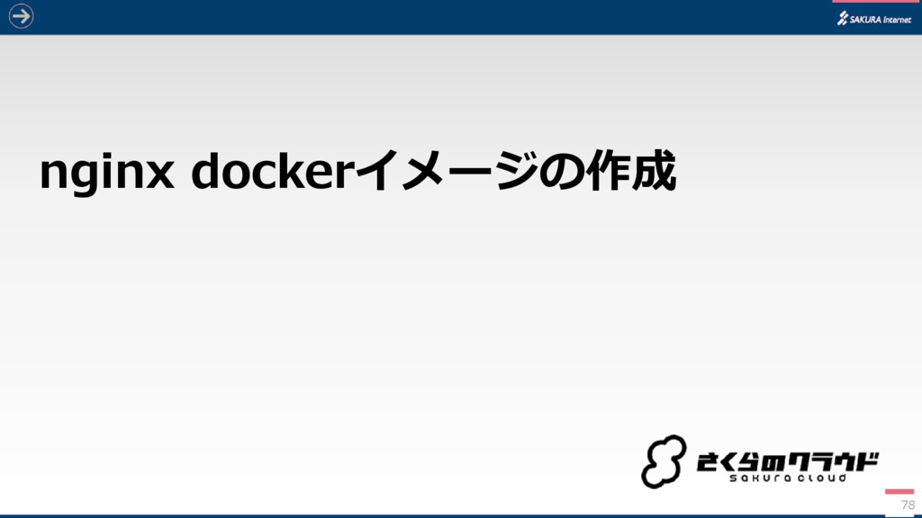 nginx dockerイメージの作成 78