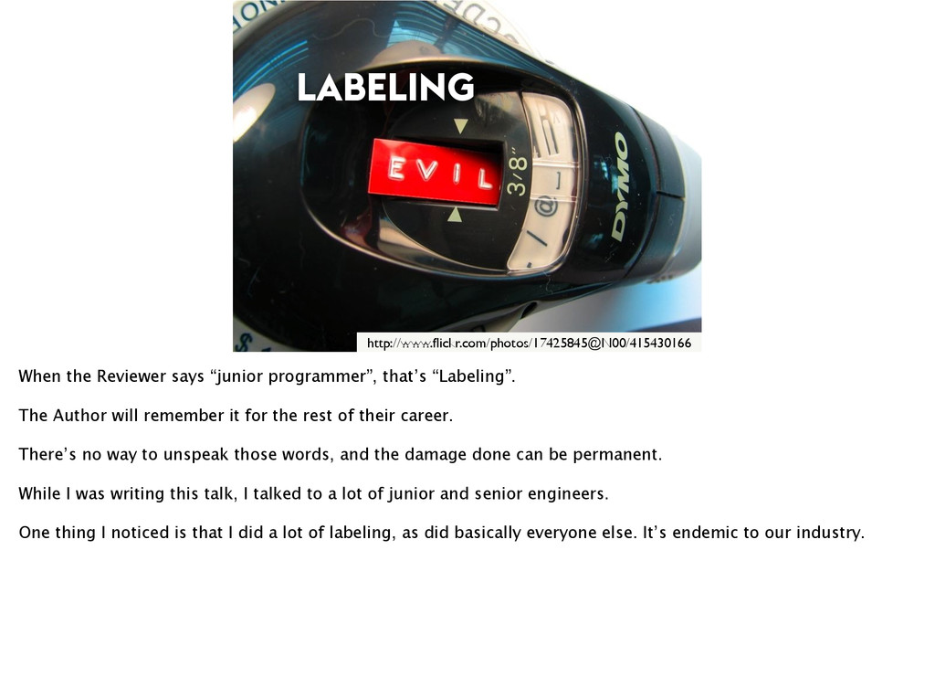 LABELING http://www.flickr.com/photos/17425845@N...