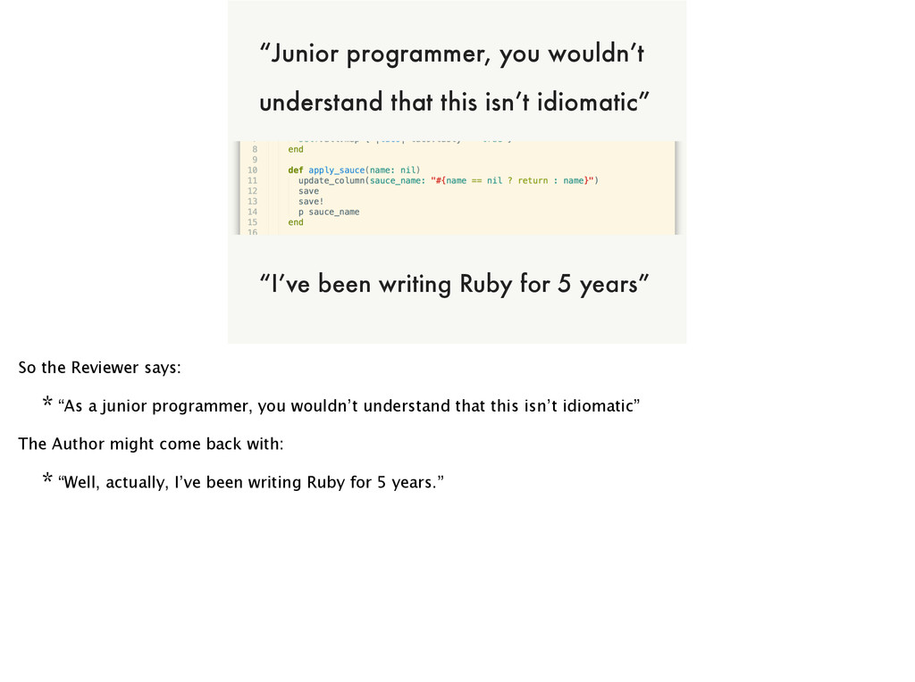 "of NOT ALL CODE CAN BE A WINNER ""Junior program..."