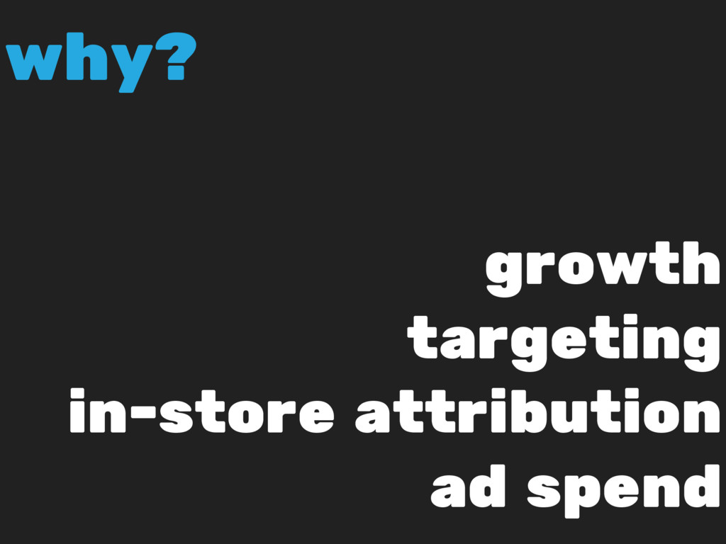 growth targeting in-store attribution ad spend ...
