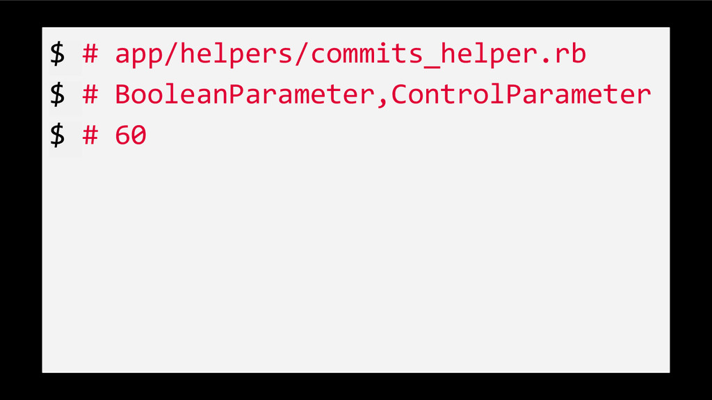 $ # app/helpers/commits_helper.rb $ # BooleanPa...