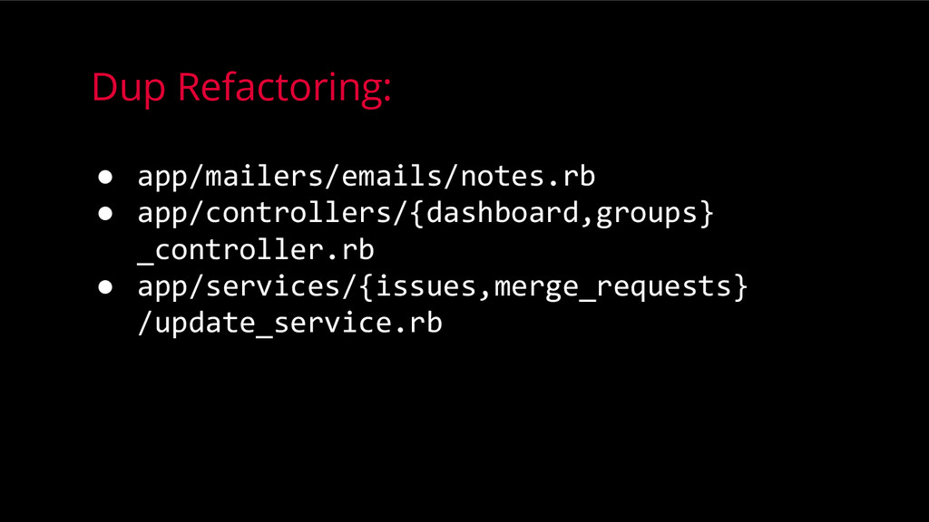 Dup Refactoring: ● app/mailers/emails/notes.rb ...