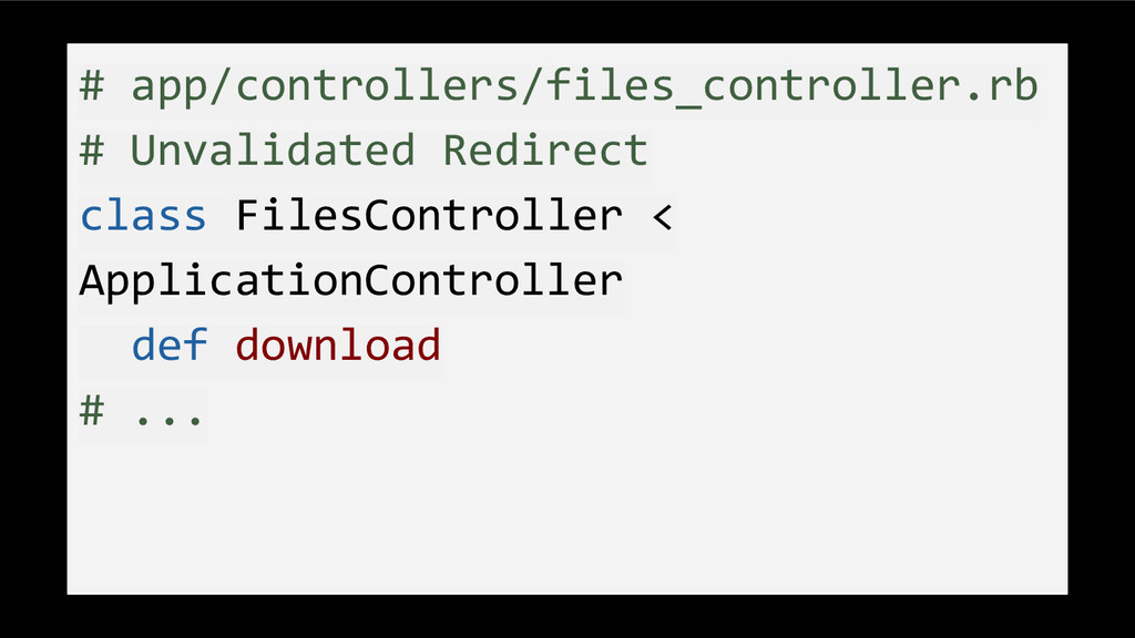 # app/controllers/files_controller.rb # Unvalid...