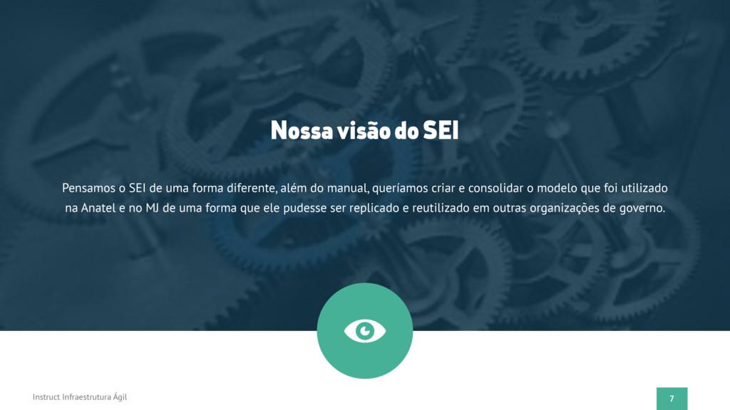 7 Instruct Infraestrutura Ágil Nossa visão do S...