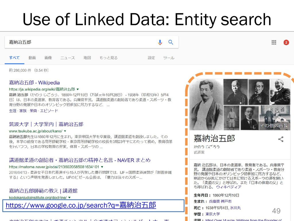 Use of Linked Data: Entity search 49 https://ww...