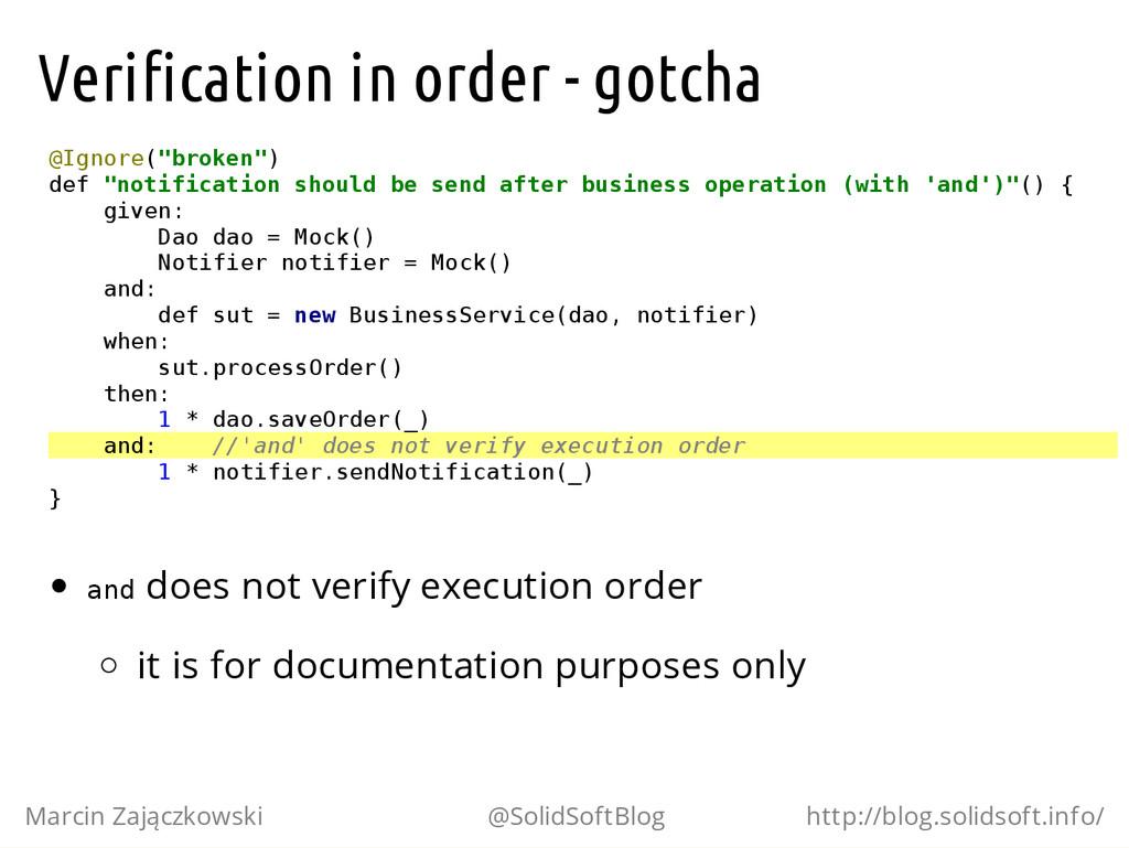 Verification in order - gotcha @ I g n o r e ( ...