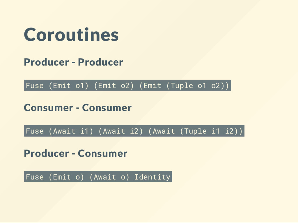 Coroutines Producer - Producer Fuse (Emit o1) (...