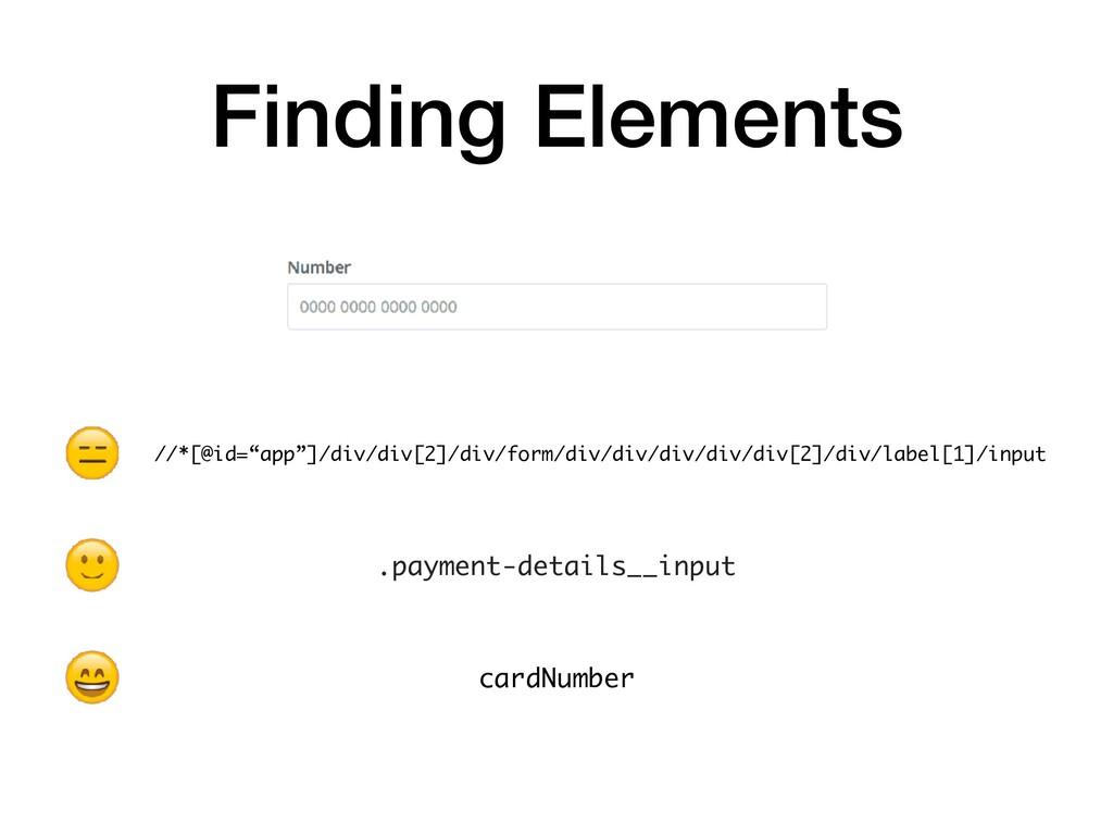 Finding Elements .payment-details__input cardNu...