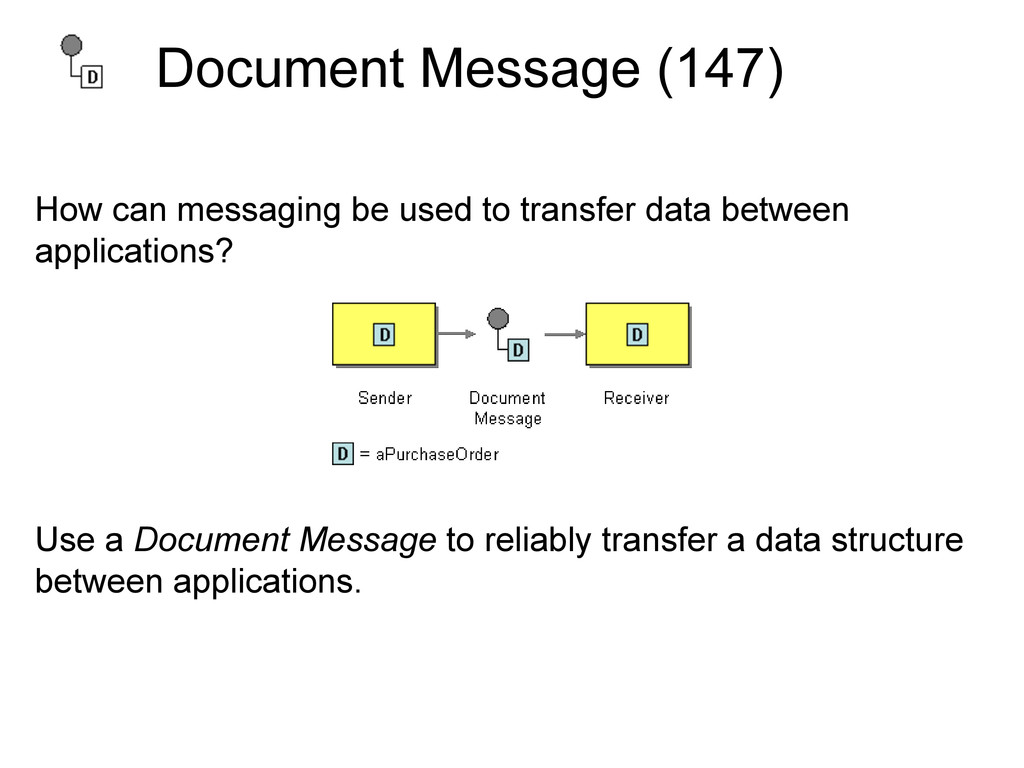 Document Message (147) How can messaging be use...