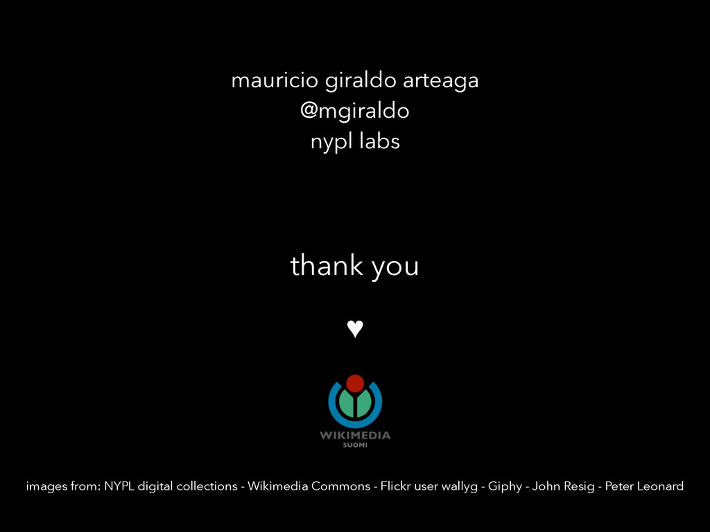 thank you ♥ images from: NYPL digital collectio...