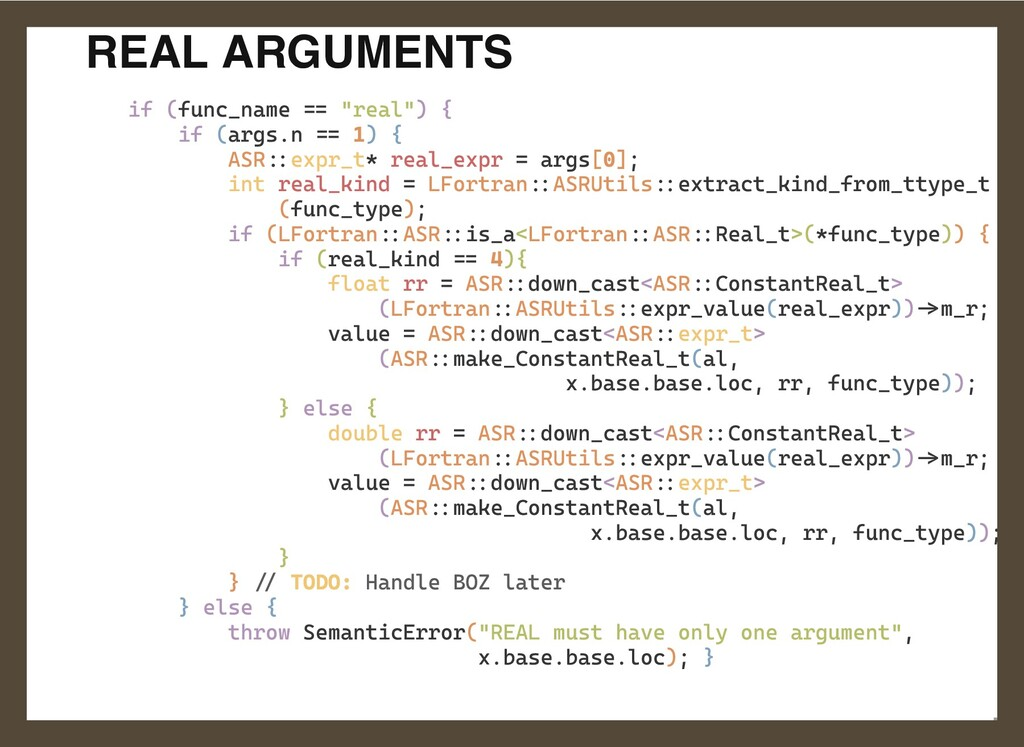 """REAL ARGUMENTS if (func_name == """"real"""") {  if (..."""