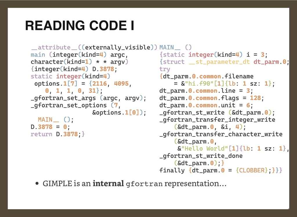READING CODE I __attribute__((externally_visibl...