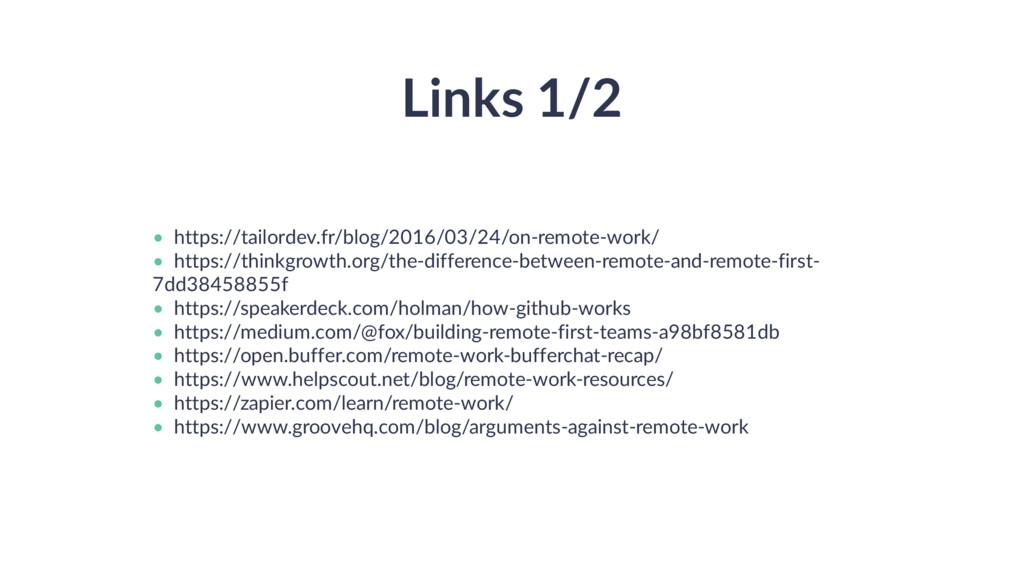 Links 1/2 • • • • • • • • https://tailordev.fr/...