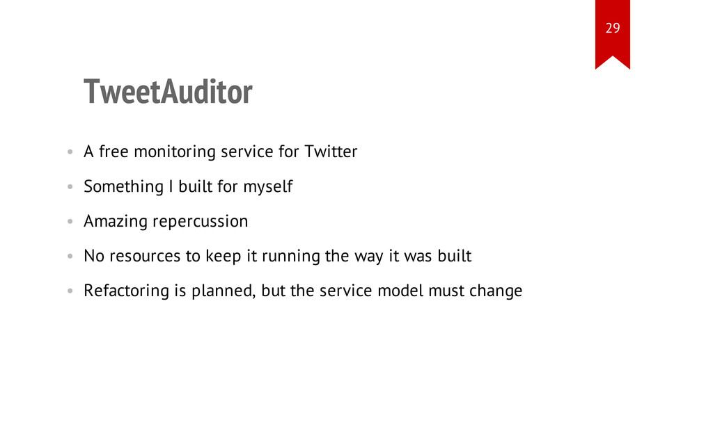 TweetAuditor • A free monitoring service for Tw...