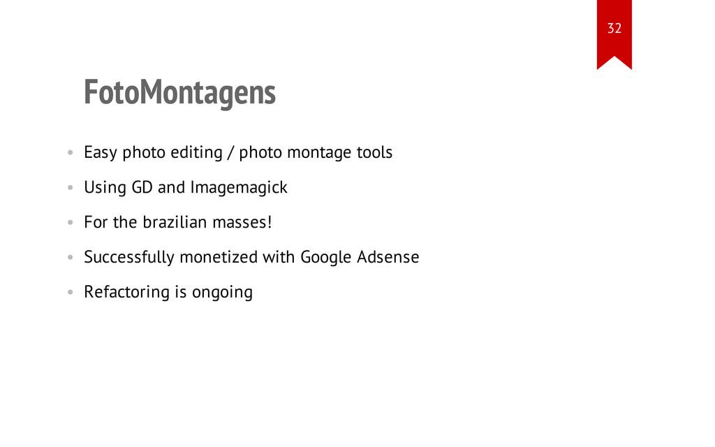 FotoMontagens • Easy photo editing / photo mont...