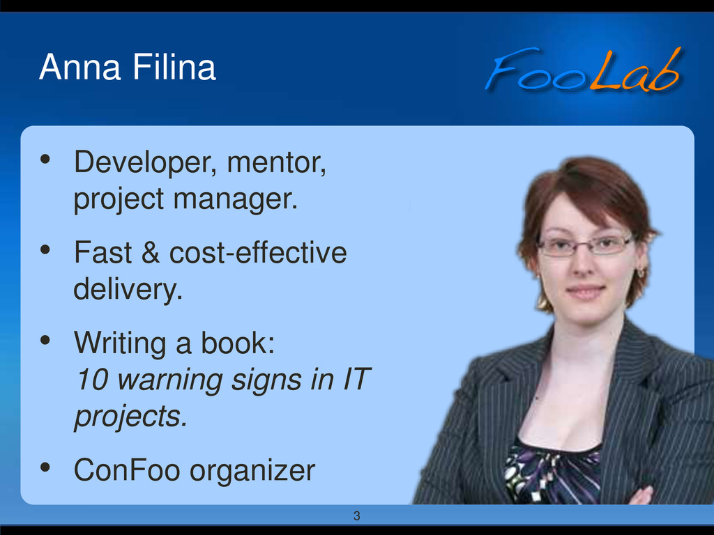 3 Anna Filina • Developer, mentor, project mana...