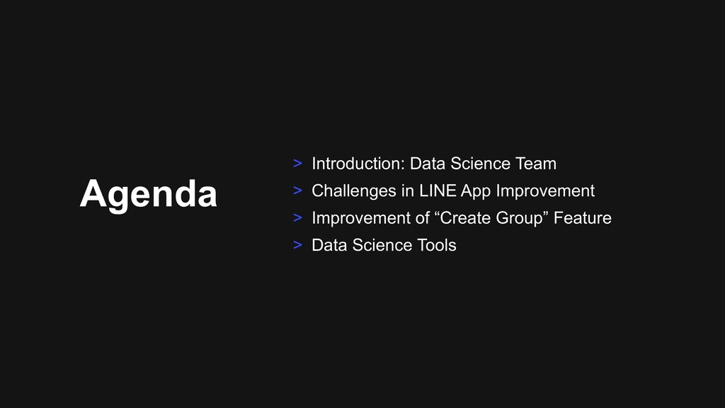 Agenda > Introduction: Data Science Team > Chal...
