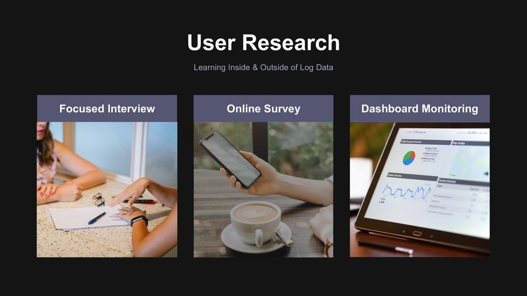 User Research Learning Inside & Outside of Log ...