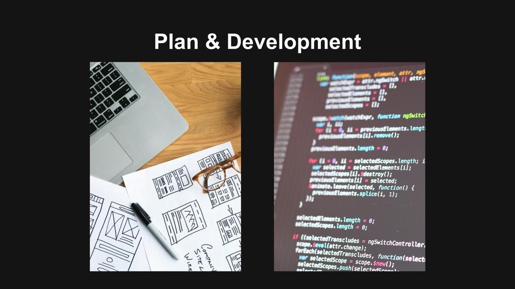Plan & Development