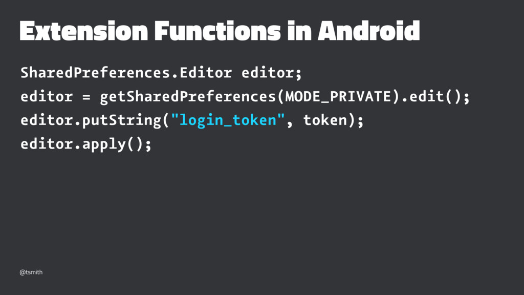 Extension Functions in Android SharedPreference...