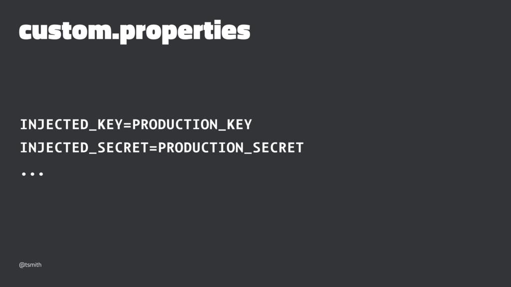 custom.properties INJECTED_KEY=PRODUCTION_KEY I...
