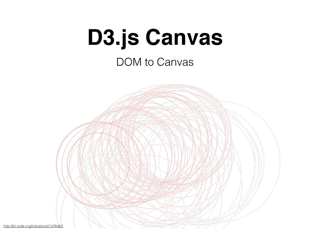 D3.js Canvas DOM to Canvas http://bl.ocks.org/m...