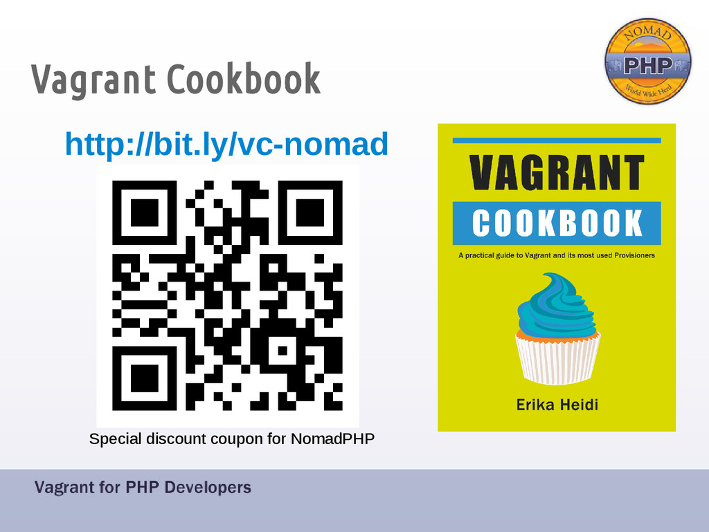 Vagrant Cookbook Special discount coupon for No...
