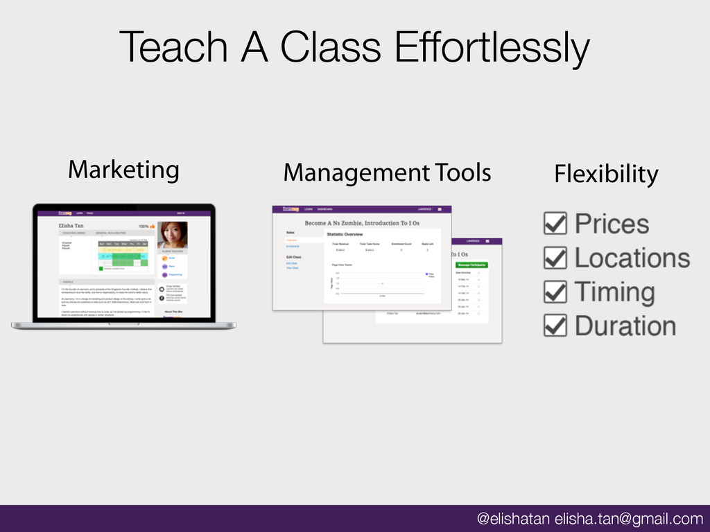 @elishatan elisha.tan@gmail.com Teach A Class E...