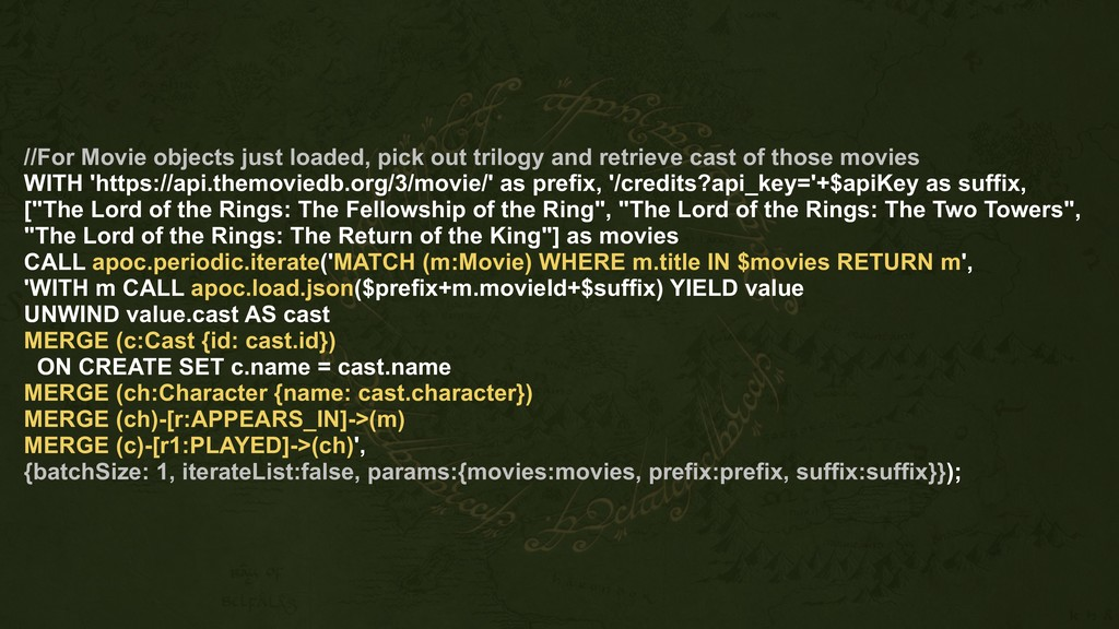 //For Movie objects just loaded, pick out trilo...