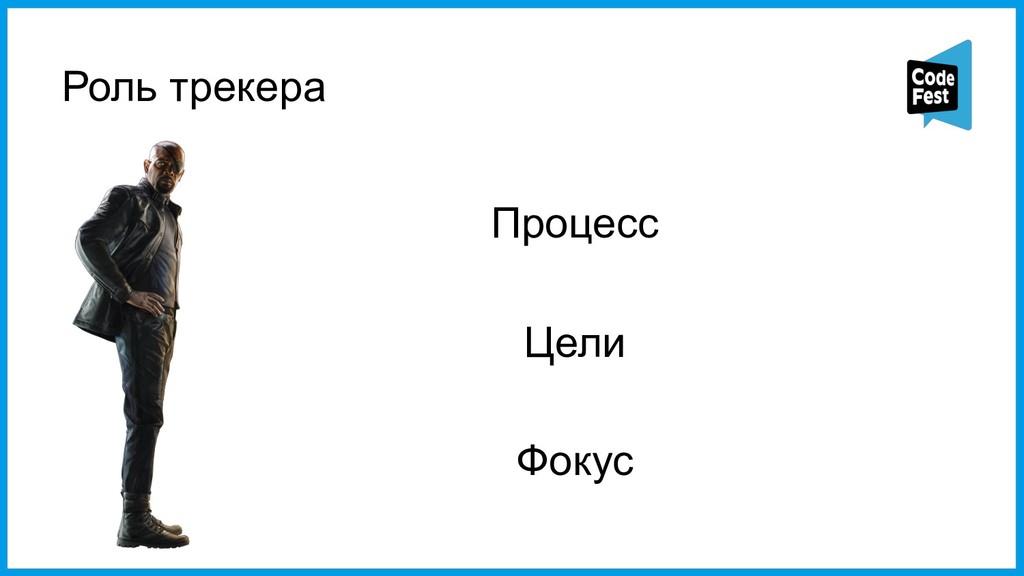 Роль трекера Процесс Цели Фокус