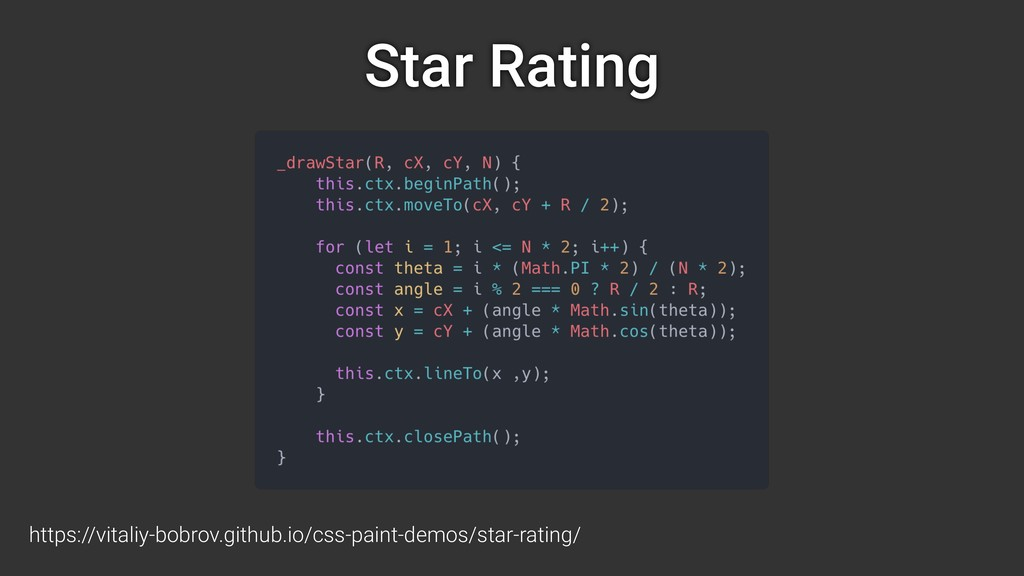 Star Rating https://vitaliy-bobrov.github.io/cs...