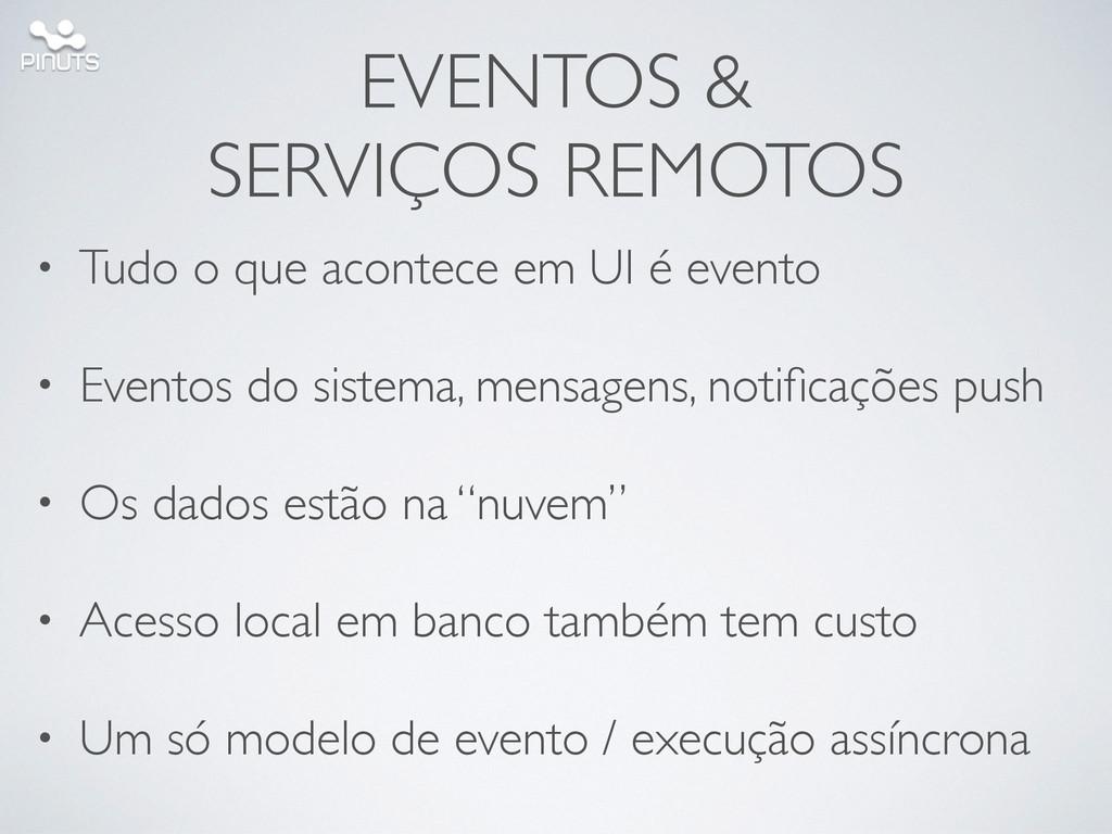 EVENTOS &  SERVIÇOS REMOTOS • Tudo o que acon...