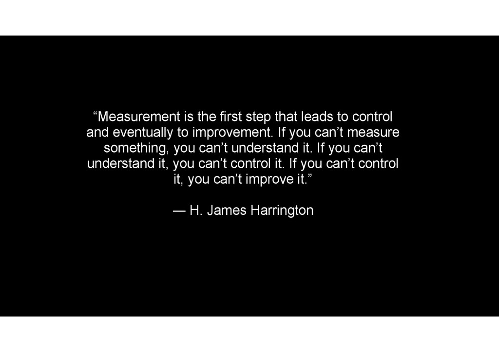 """Measurement is the first step that leads to co..."